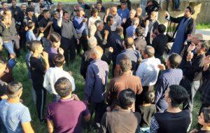 مراسم تاسوعای حسینی درسرفاریاب برگزارشد(تصاویر)