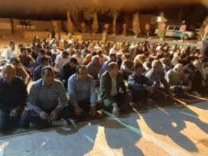برگزاری یادواره شهدای پایگاه المهدی مشایخ درسرفاریاب(تصاویر)