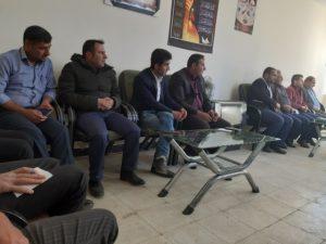 جلسه برنامه ریزی و هماهنگی برنامه های دهه فجر سرفاریاب در دفتر بخشدار برگزار شد