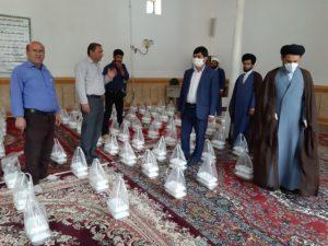 سرفاریابی های مهمانان سفره افطاری رهبری  /اطعام پرمهر در ماه مهربانی